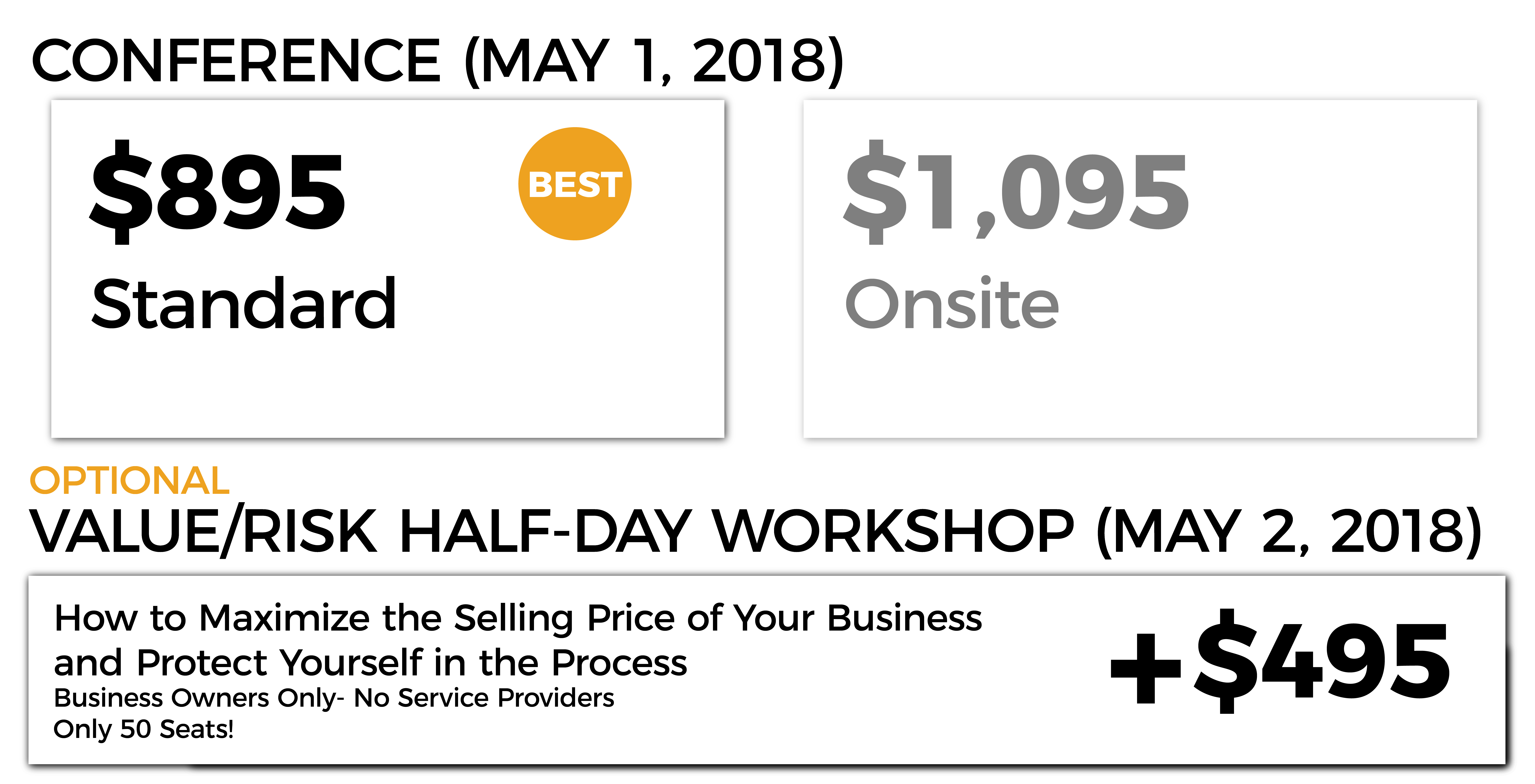 Pricing Grid- Standard Website-Toronto
