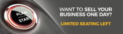 Want to sell your business one day? Limited seating left.