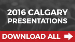 2016 Calgary All Presentations