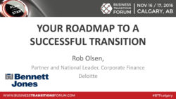 YOUR ROADMAP TO A SUCCESSFUL TRANSITION