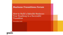 How to Build a Saleable Business: Your Roadmap to a Successful Transition