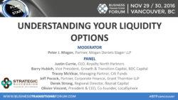 Understanding Your Liquidity Options