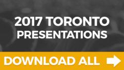 BTF Toronto 2017 All Presentations