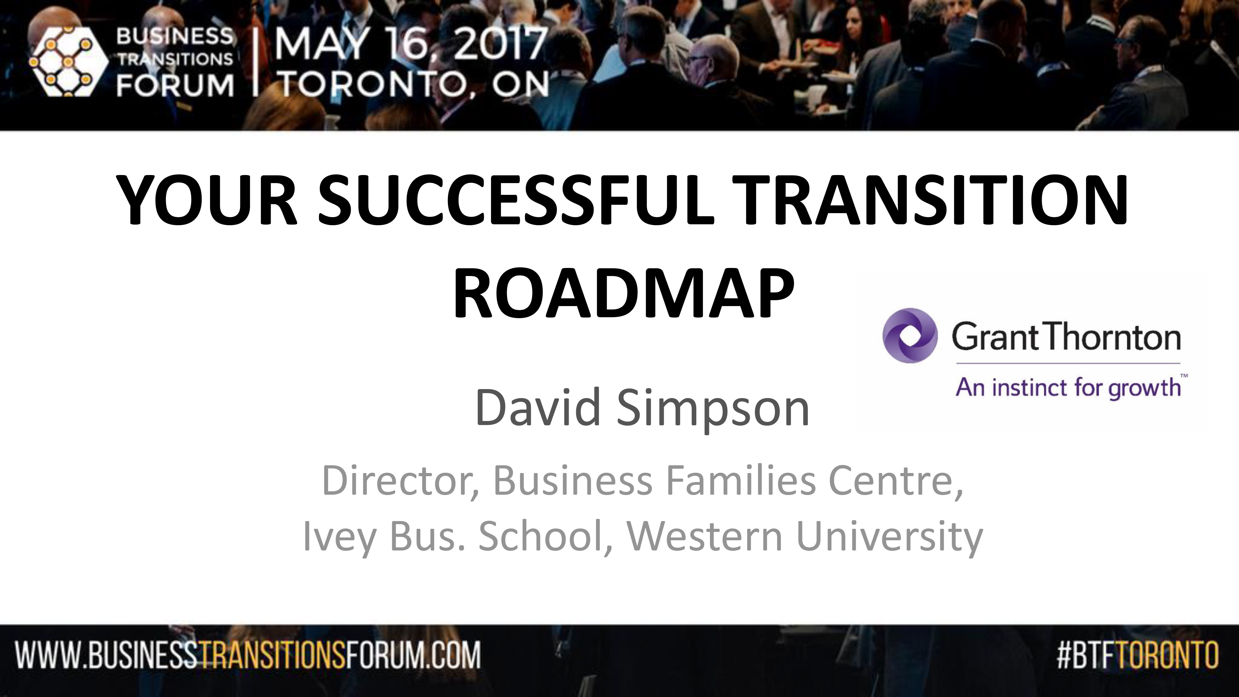 Your Successful Transition Roadmap