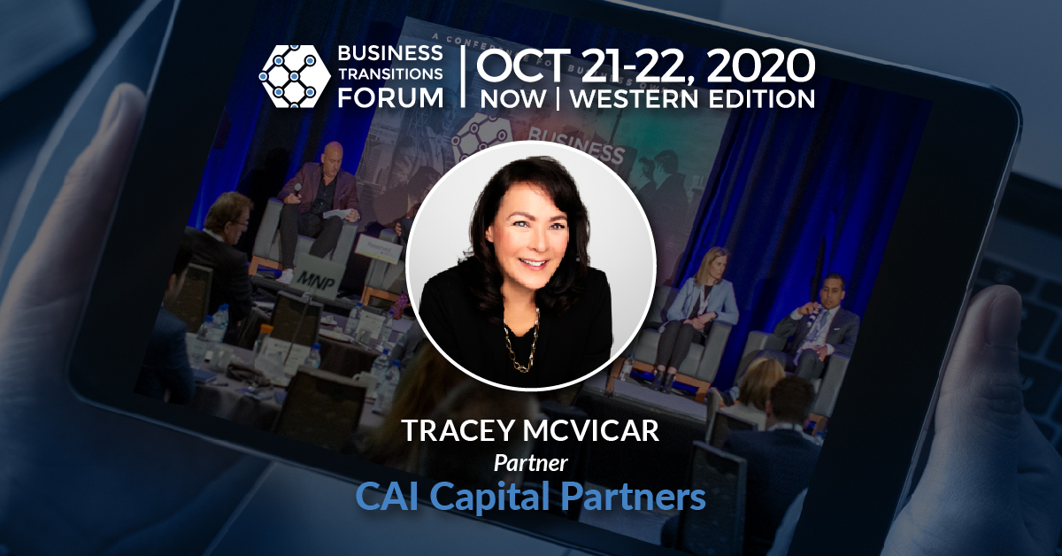 Tracey McVicar, CAI Capital Partners
